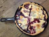 Skillet Blackberry Cobbler